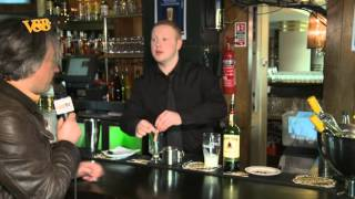 La recette de l'irish coffee, by John, from Dublin !