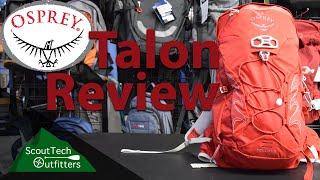 Gambar cover Osprey Talon 11 Day Pack Review - Great for Biking and Hiking!