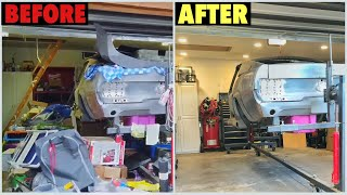 Garage Mess Clean Up Project - Before and After Results