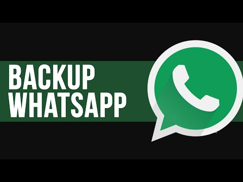 Como fazer backup do histórico de conversas do WhatsApp | TUTORIAL