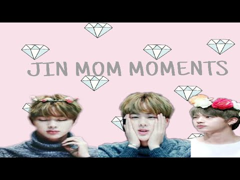 BTS JIN MOM MOMENTS