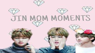 BTS JIN MOM MOMENTS