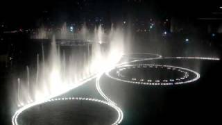 The Dubai Fountain   Time To Say Goodbye (high Quality) By Andrea Bocelli & Sarah Brightman