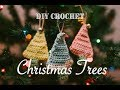 DIY Crochet Christmas Tree Ornaments