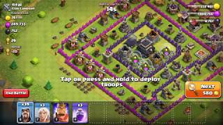 Clash Of Clans Attack strategy: Wizards and Healers