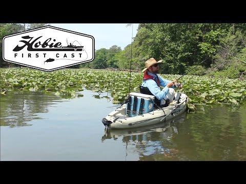 FirstCast fishing program introduction, HobieFishing