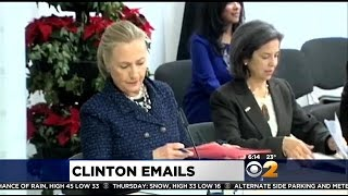 NYT: Hillary Clinton Used Personal Email Account As Secretary Of State