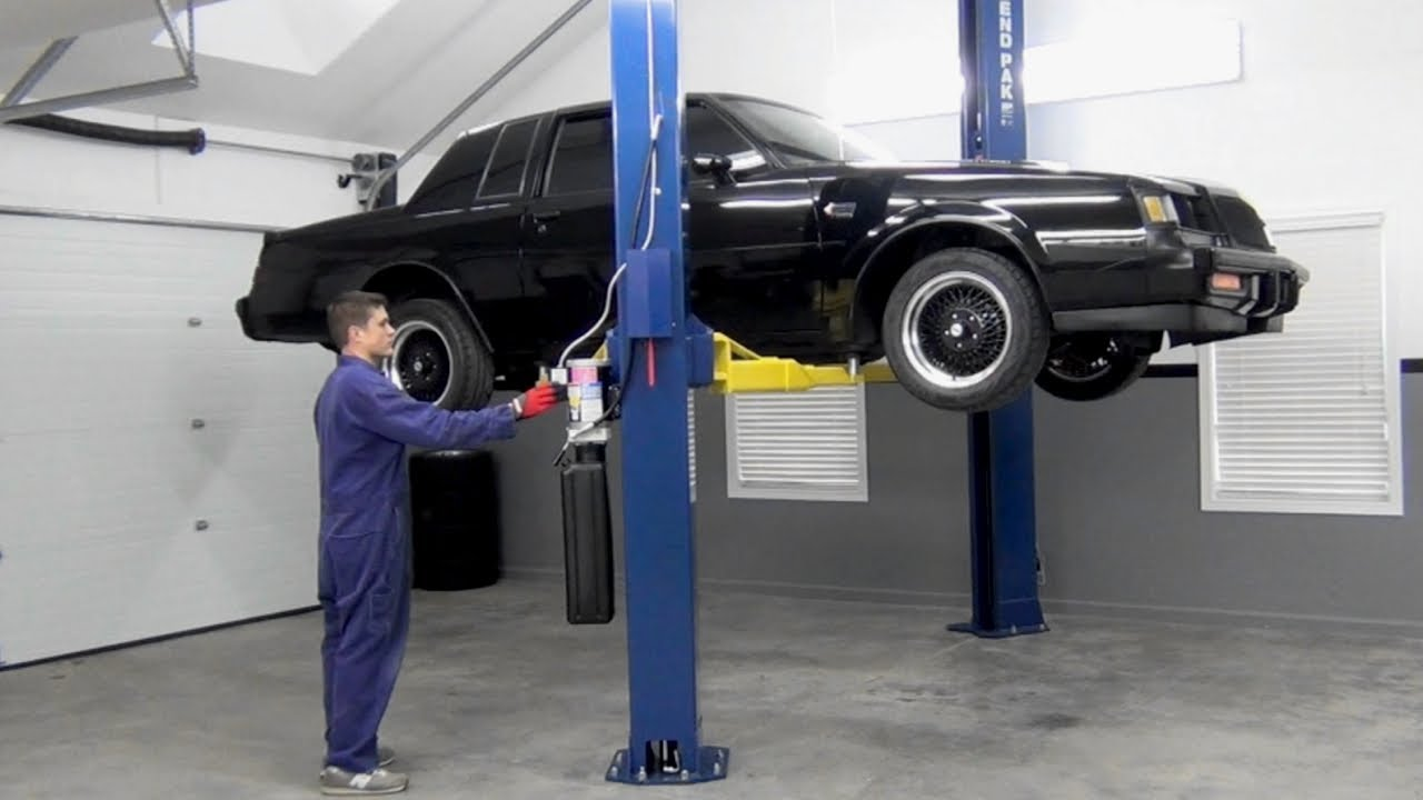 Buick grand national suspension upgrade