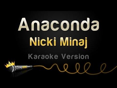 Nicki Minaj  Anaconda Karaoke Version