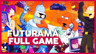 Futurama | PS2 | Full Gameplay/Playthrough | No Commentary