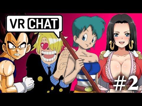 Bulma Plays VR Chat #2 - FUN TIME BINGO KARAOKE AND A DATE WITH SANJI