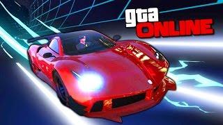СУПЕРСКАЯ НЕОНОВАЯ ГОНКА С ГАЛЛЮЦИНАЦИЯМИ В GTA 5 ONLINE ( ГТА 5 ГОНКИ )