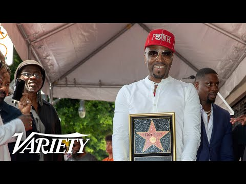 Teddy Riley - Hollywood Walk of Fame Ceremony - Live Stream
