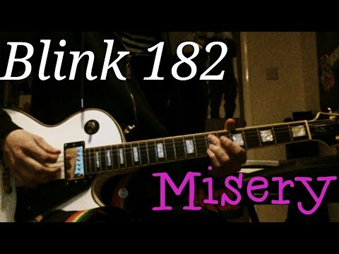 Blink 182 - Misery Guitar Cover
