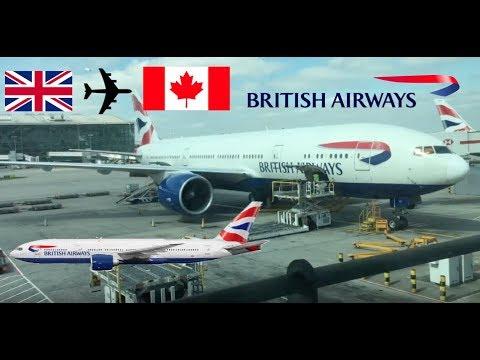 ✈️ TRIP REPORT | British Airways B777-200er G-VIIS | London Heathrow To Toronto | 12/04/2017
