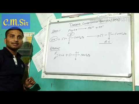 Darzen's condensation reaction by cute method
