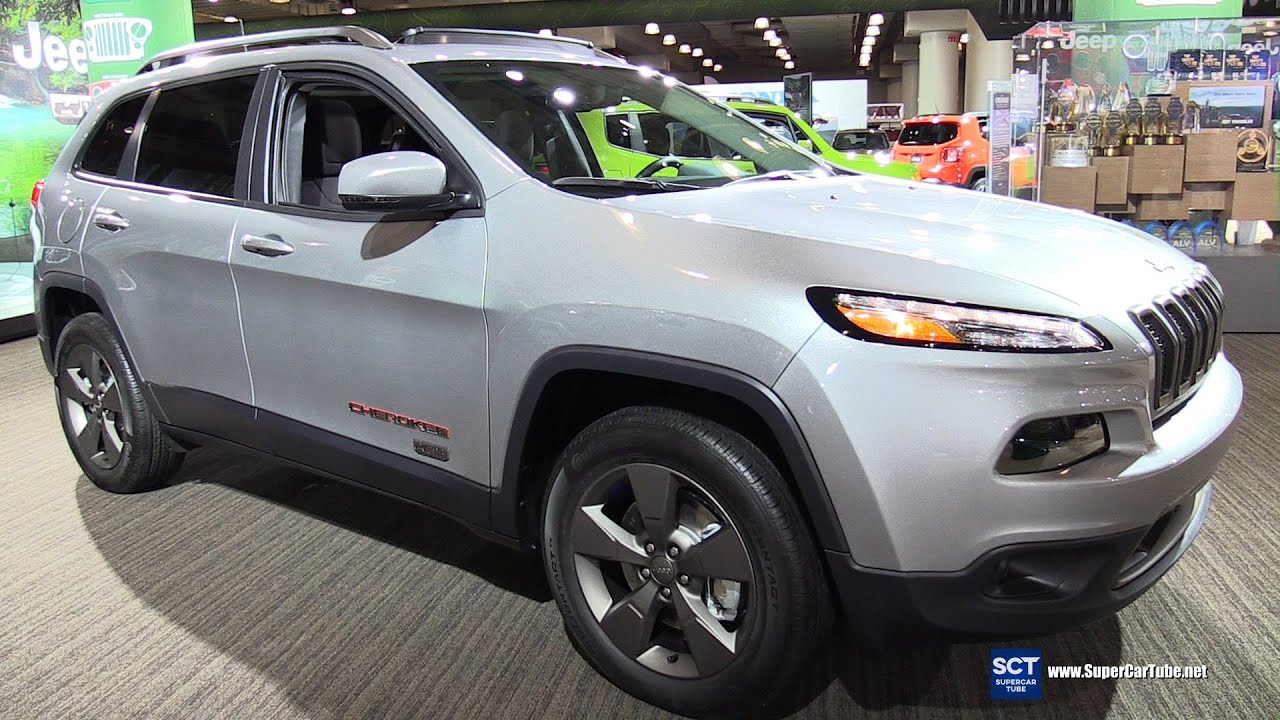 2016 jeep cherokee 75th anniversary edition exterior interior walkaround 2016 new york auto. Black Bedroom Furniture Sets. Home Design Ideas