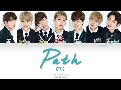 BTS (방탄소년단) - Path (Color Coded Han|Rom|Eng Lyrics)