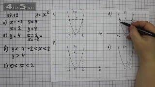 Упражнение 37.12. Алгебра 7 класс Мордкович А.Г.