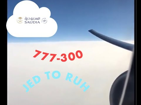 Saudi flight from JED/RUH 777-300ER - Business class