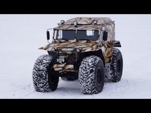 ГАЗ 53 вездеход в грязи на бездорожье - YouTube