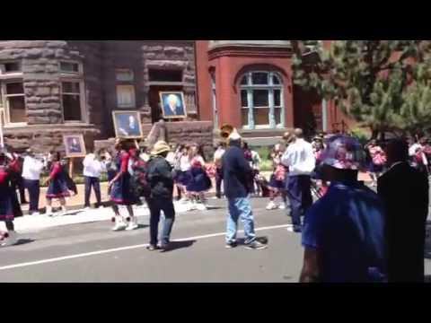United House of Prayer Memorial Day Parade 2013 clip 5