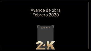 Avance de Obra - Febrero 2020