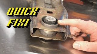 2003-2017 Ford Expedition Clunk Going Into Gear: Rear Differential Support Bracket Replacement
