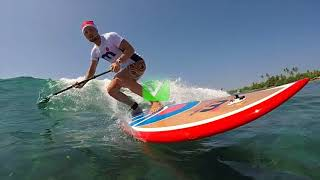 Eugene Rezontov | SUP surf profile | Sri Lanka 2017