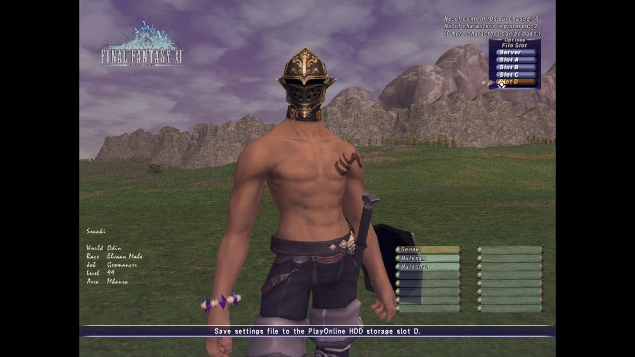 How to FFXI: World Transfer and its Effects on your Character [Returning  Players]