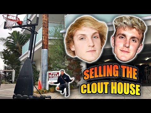 Download Youtube: JAKE PAUL & LOGAN PAUL PUT CLOUT HOUSE FOR SALE AGAIN *GONE WRONG*