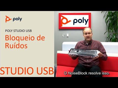 Poly Studio Bloqueio de Ruídos  Português