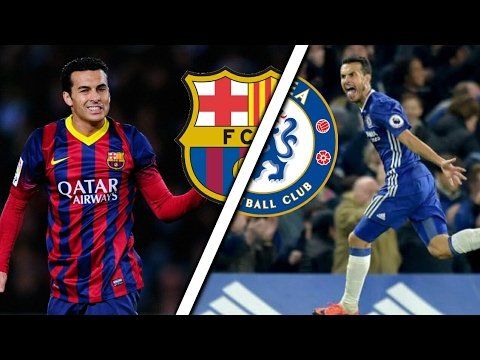 Pedro in Barcelona Vs Pedro in Chelsea | Skills & Goals | Which is better?