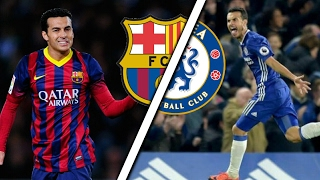 Pedro in Barcelona Vs Pedro in Chelsea  Skills amp Goals  Which is better