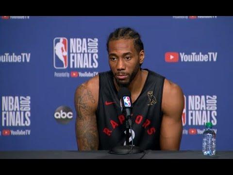 Toronto Raptors Media Availability | NBA Finals Game 1