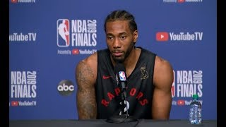 Toronto Raptors Media Availability | NBA Finals Game 1