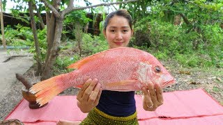 Yummy Fish Frying Vegetable With Chili Sauce Cooking - Fish Frying - Cooking With Sros