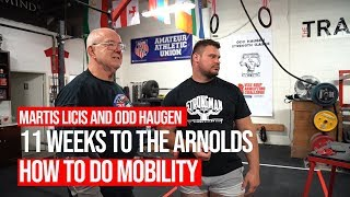 How Does Martins Licis Squat So Low? - 11 Weeks To The Arnolds