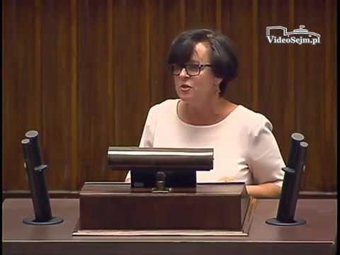 Joanna Kluzik Rostkowska - wystąpienie z 7 lipca 2017 r.