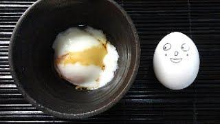 Onsen tamago Recipe温泉卵を炊飯器で作ろう