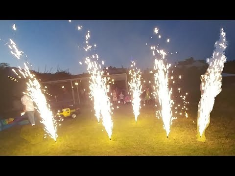 Elifin doğum günü winx parti sonu veda , Balonlar uçuyor, ışık şow