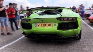Novitec Torado Lamborghini Aventador w/ Akrapovic Exhaust - LOUD REVS! thumbnail