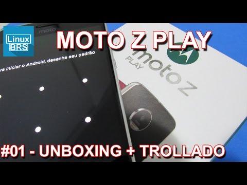 Lenovo Moto Z Play - Unboxing e especificações - Fui Trolado!!!