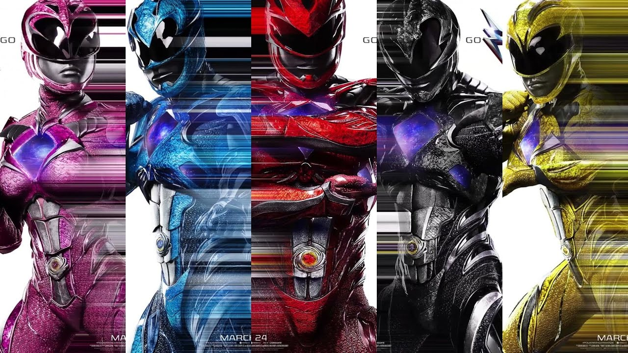 2017 Movie Posters: Power Rangers Movie 2017