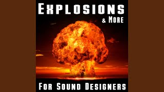 Big and Distant Explosion with Long Reverb