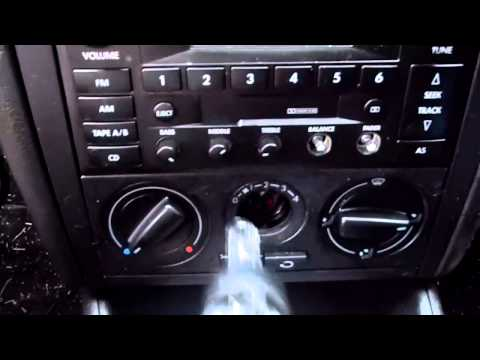 How to Replace a Volkswagen Jetta Climate Control Light Bulb