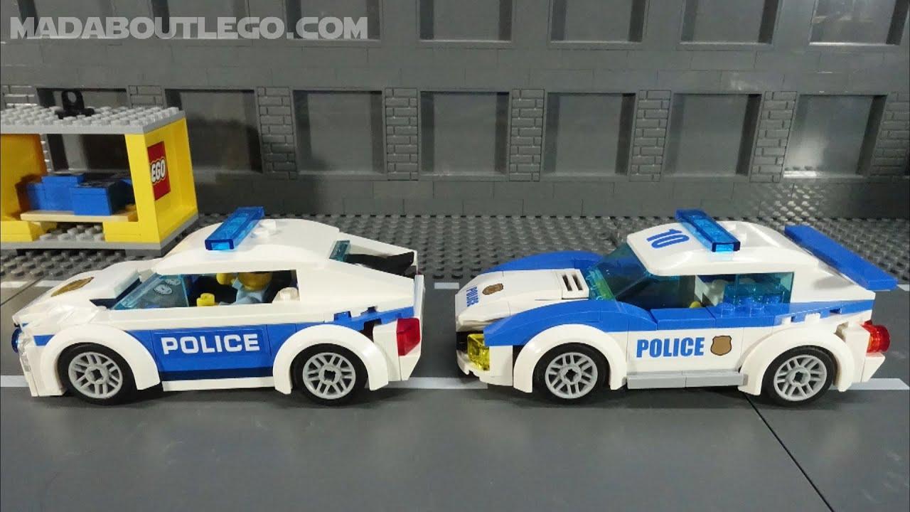 LEGO City police patrol car 60239 LEGO