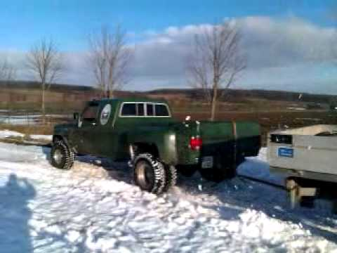 Lifted Chevy For Sale >> Chevy K30 Dually - YouTube