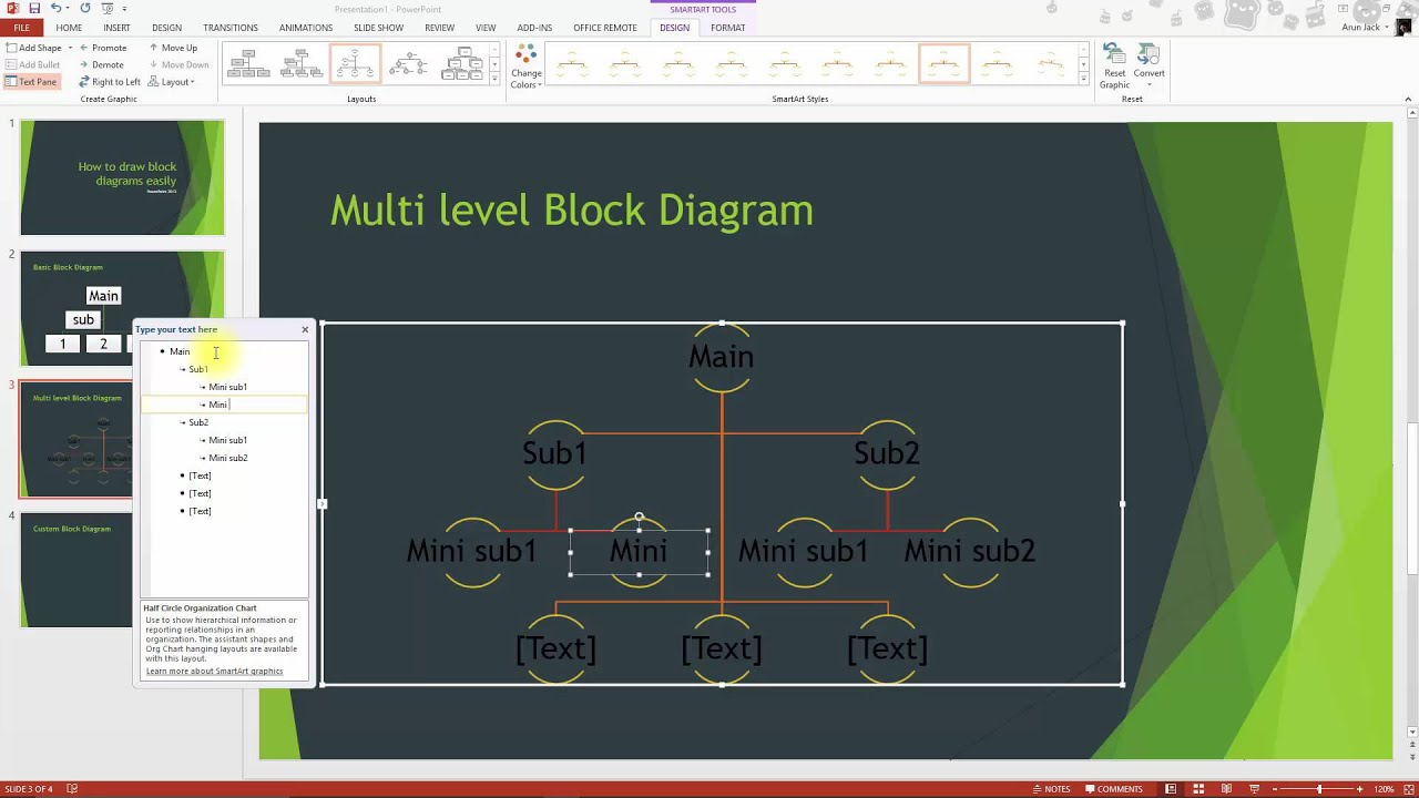 Powerpoint tutorials how to create block diagrams in just 10sec powerpoint tutorials how to create block diagrams in just 10sec ccuart Image collections