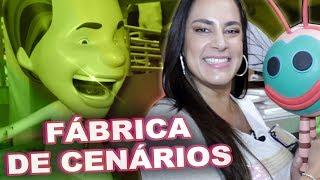 A FÁBRICA DE CENÁRIOS DO SBT | Silvia Abravanel